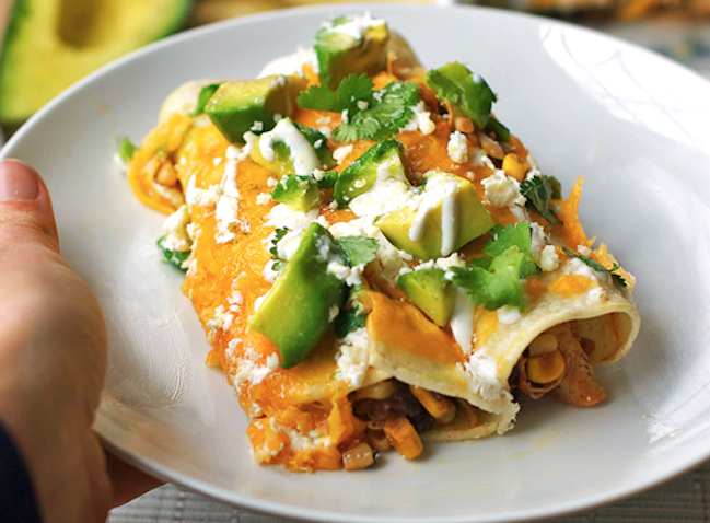 chicken enchiladas pinch of yum