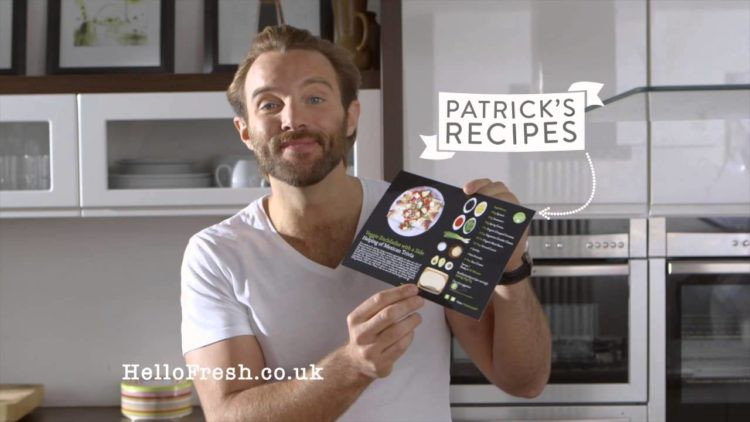 HelloFresh co-founder Patrick Drake. Pic: HelloFresh youtube