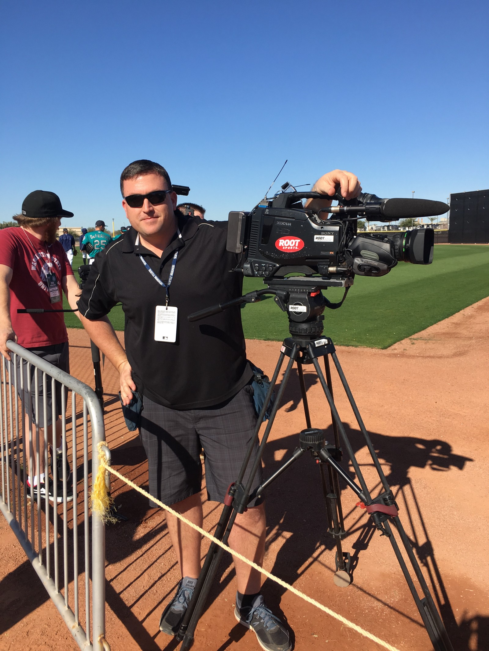 Mariners spring training update day 3 from the corner of edgar if you see mariners spring training workout video on this blog on tv or on twitter we can thank root sports cameraman kevin vocht who works tirelessly to sciox Gallery