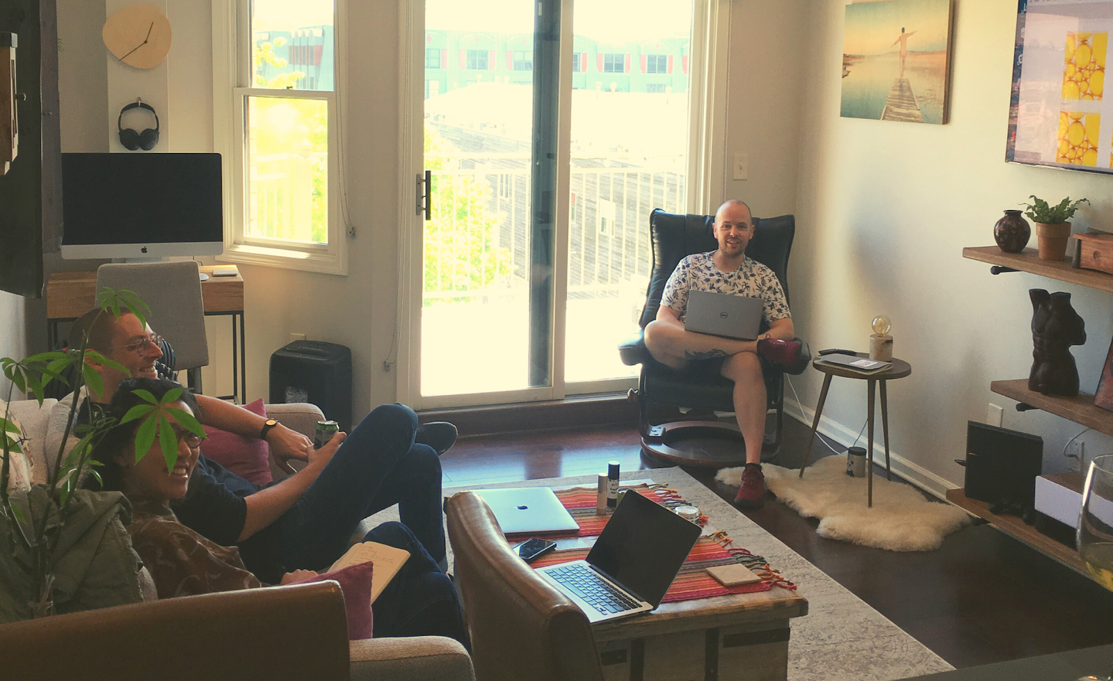 Collaborating with our web designers on branding and site usability