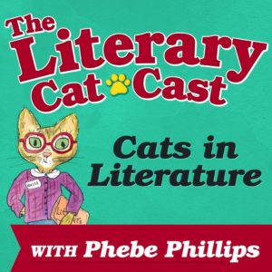Literary CatCast Icon for Blog