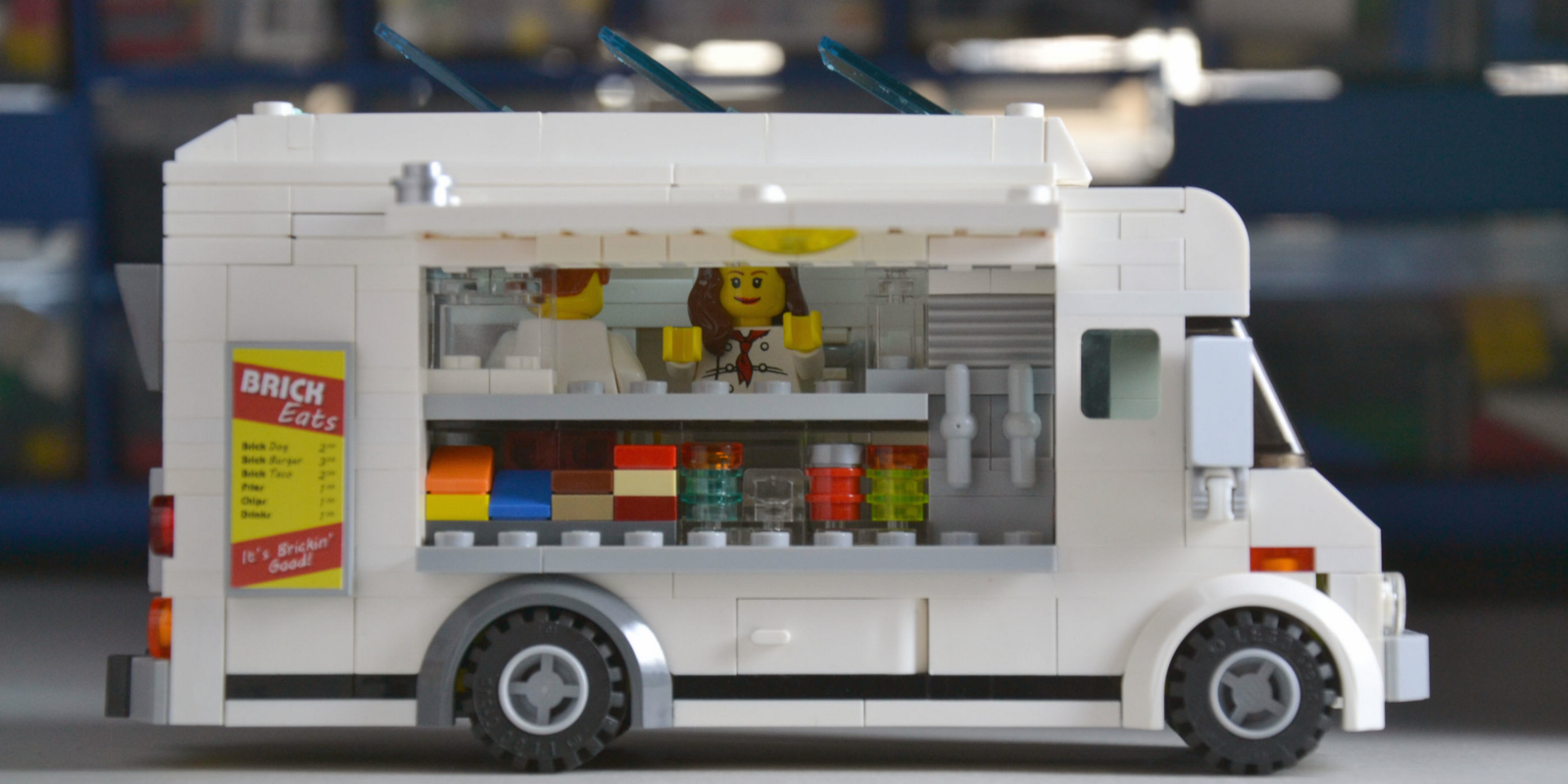 Is The World Ready For A Food Truck Lego Set The Bold Italic