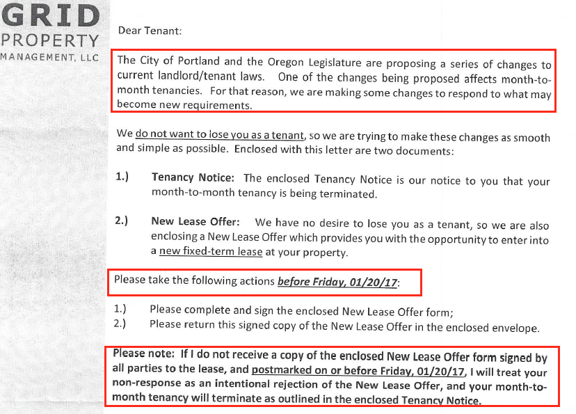 An open letter to grid property management from the tenants union but then the letter came on january 14th and we became very concerned our optimism turned to confusion and fear altavistaventures Image collections