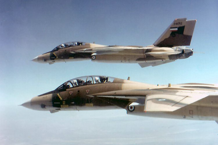 Iranian F-14s. All photos -- Iranian air force, unless otherwise noted