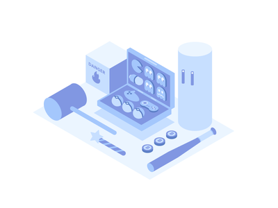 typical-friday-nights-isometric-illustration-by-logan-liffick