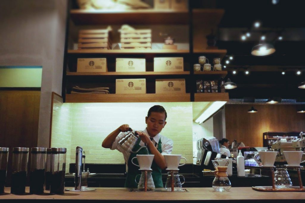 kopi manual brew starbucks experience bar