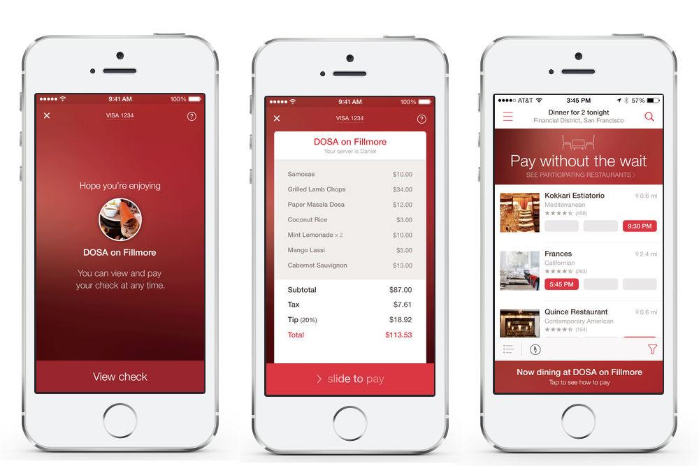 Image result for opentable mobile app