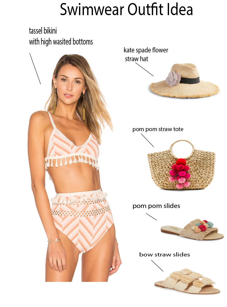 This Summer's Must Have Swimsuit featured by popular Orange County fashion blogger, Dress Me Blonde