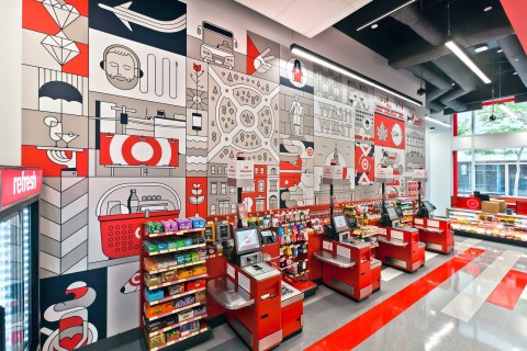 The Psychology of Retail Store Interior Design, Part 1: Color | Target retail store interior design red