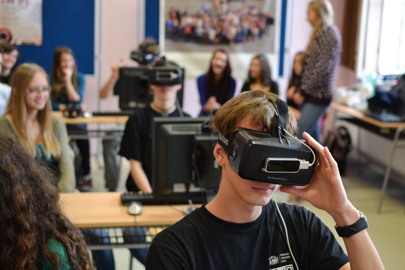 Virtual reality is the future of education