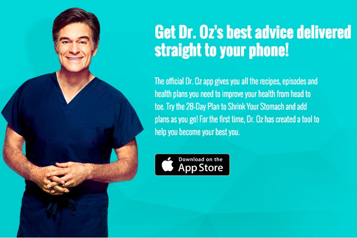 Introducing The Brand New Dr. Oz App!