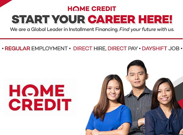home credit hiring