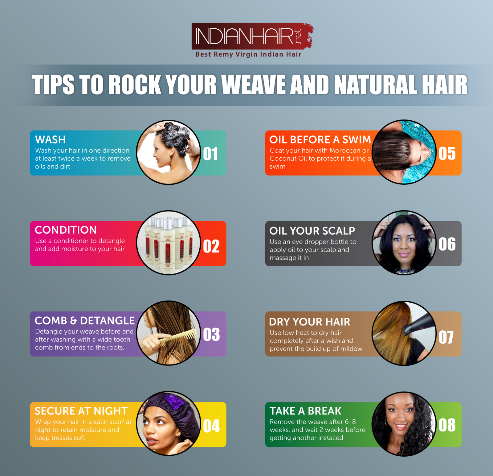 How To Maintain Your Weave Hair Indian Hair Medium