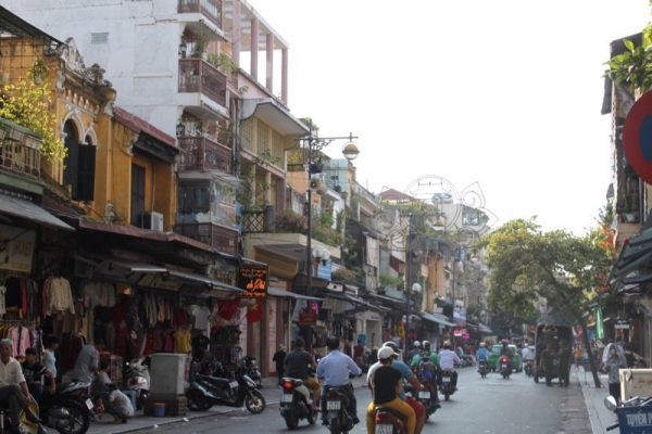 Hanoi Old Quarter Photo by Paige from For the Love of Wanderlust