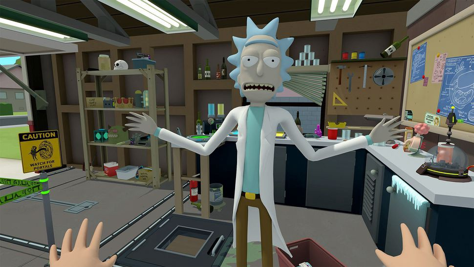 .@RickandMorty are taking the #VR game plunge on 4/20