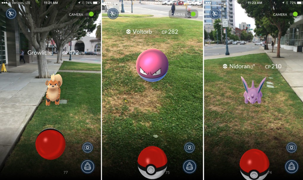 Pokémon Go battles