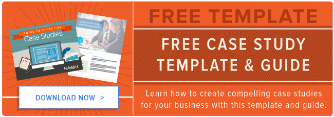 case study creation kit - guide + template