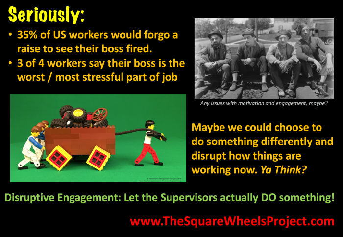Disruptive Engagement and Empowerment Square Wheels image
