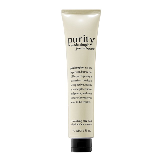 Philosophy Purity Made Simple Pore Extractor Mask – $35