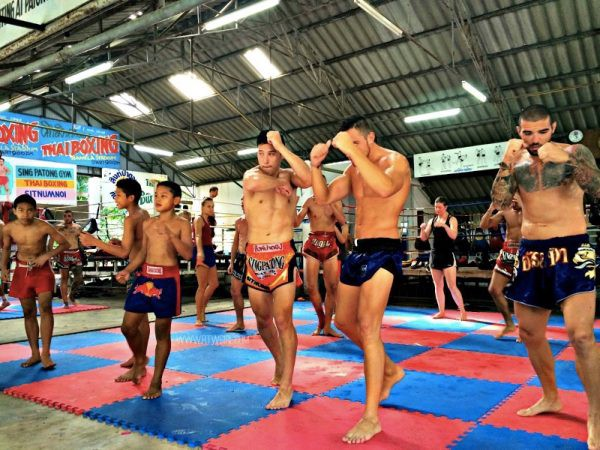 Singpatong Muay Thai Photo by Arnette from RTW Girl