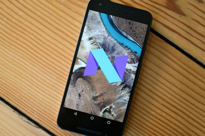 Smartphone sin Android Nougat