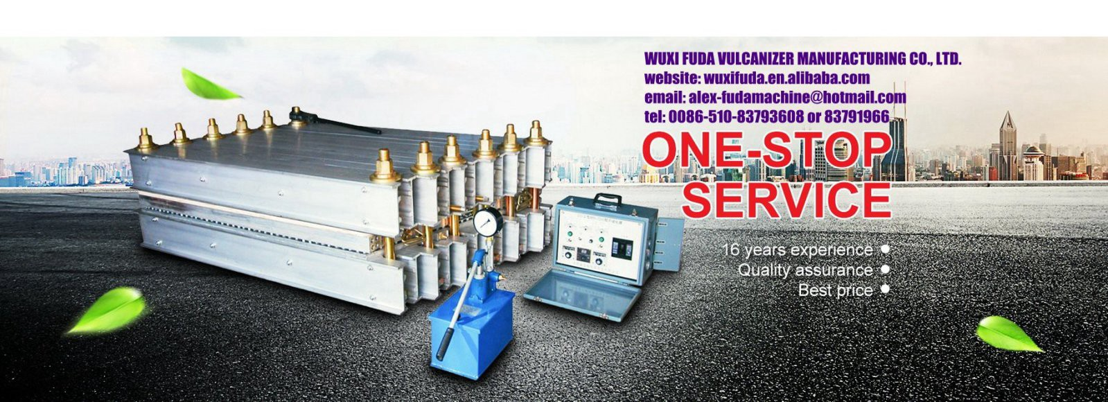 Government certified biggest mining machinery supplier, Wuxi Fuda