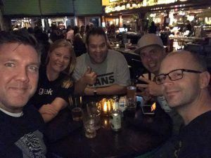 Having fun with my fellow MVPs at MSIgnite