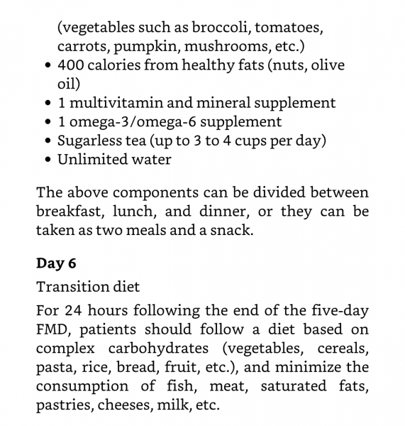 What I Learned Reading New Book The Longevity Diet By Valter Longo