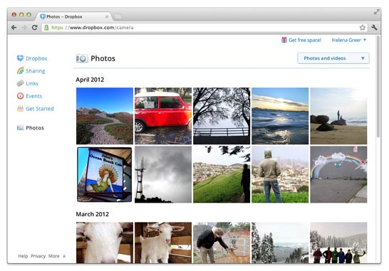 Magpi Dropbox photo integration