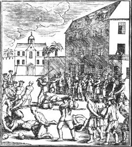 Execution of Chinese prisoners in 1740 in Batavia
