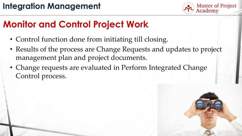Monitor And Control Project Work Process Are You On The Right Track