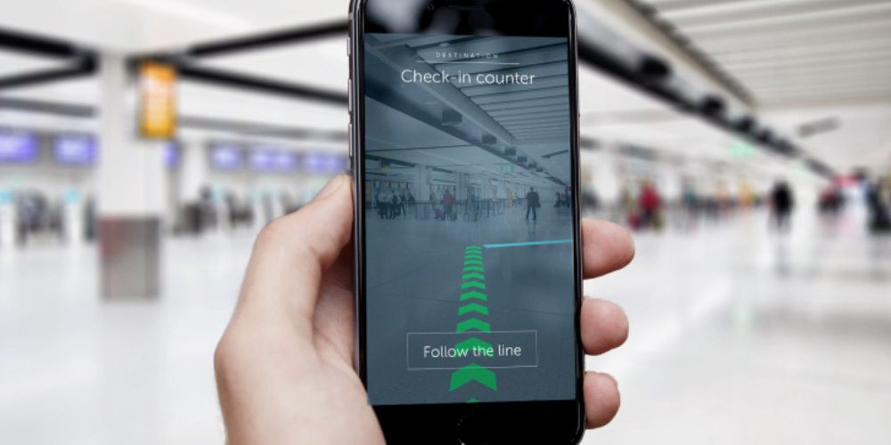 UK airport installs 2000 iBeacons for augmented reality navigation & passenger tracking