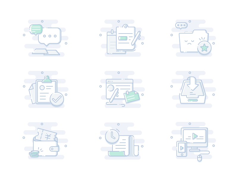 Default page design icons by YinJing