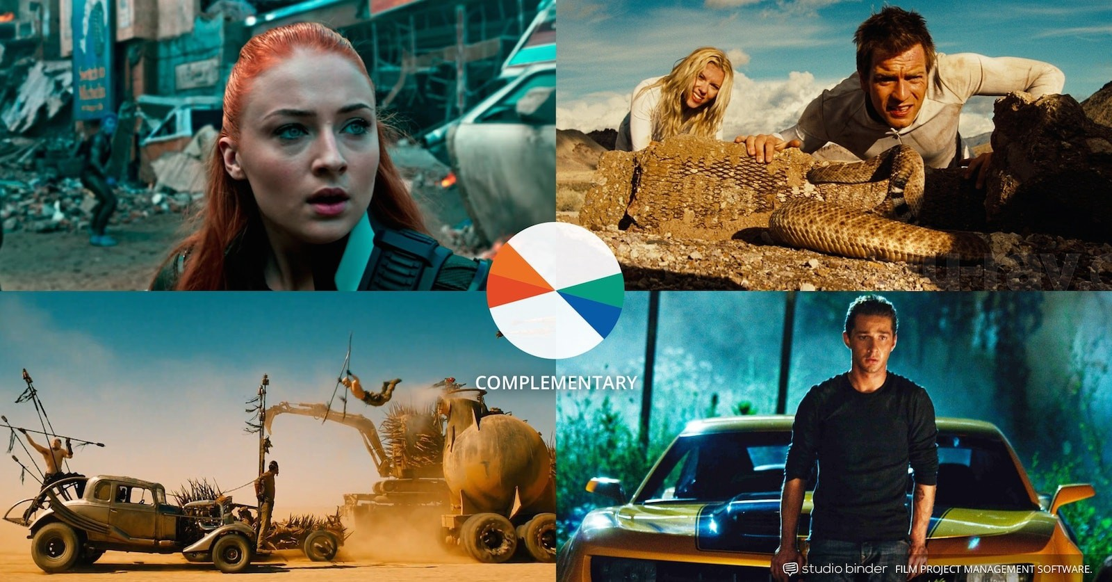 How to Use Color in Film – Example of Movie Color Palette and Schemes – Complementary Orange and Teal-min