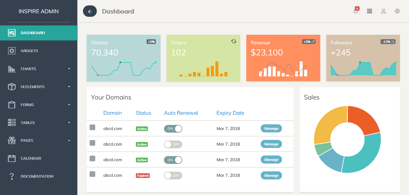 Calendar Design Bootstrap : Top best selling bootstrap admin templates on themeforest