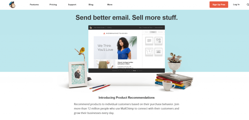 Image 5. Mailchimp example drip email campaigns