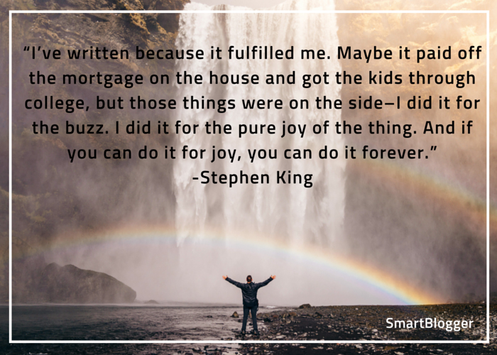 Stephen King quote #1