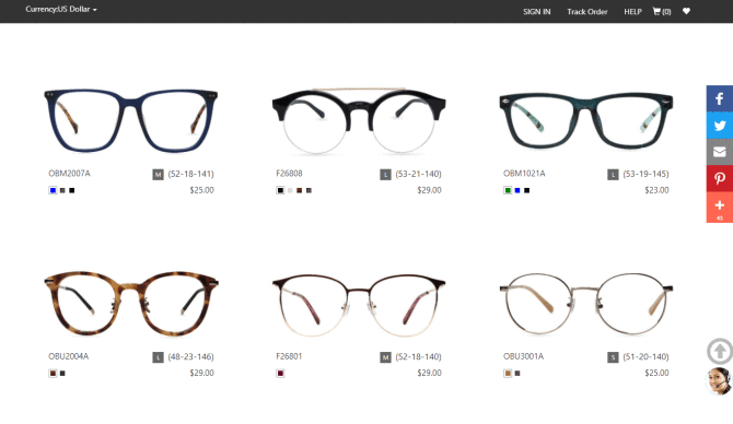 be2d5b62aa Firmoo should win the award for most hit or miss optical store. The site is  filled with pages upon pages of trendy