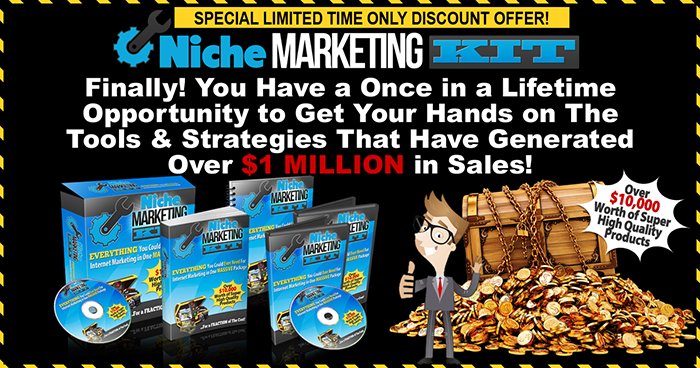 The niche marketing kit 2018 review apply your discount and bonus use coupon code click here to apply your discount fandeluxe Choice Image