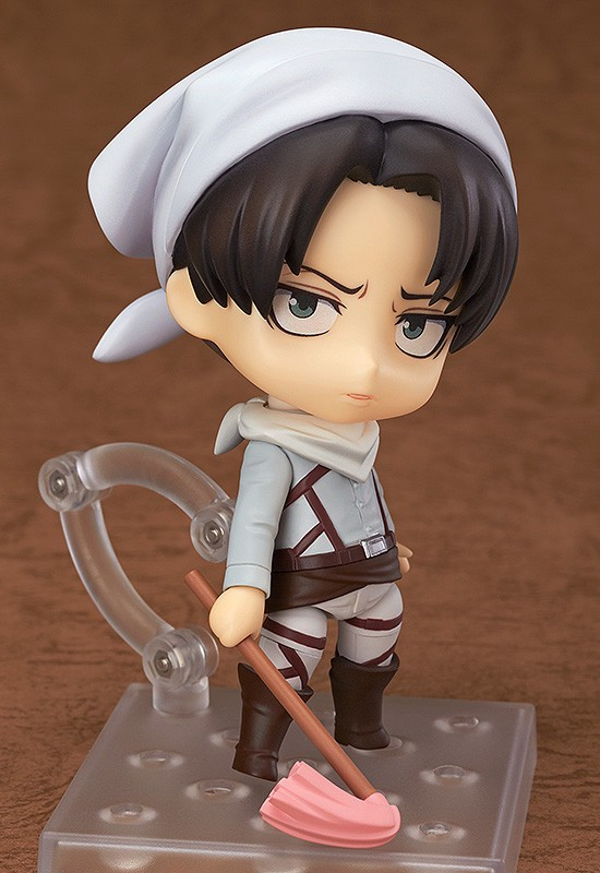 Levi Ackerman Cleaning ver. Nendoroid #417 by Good Smile Company