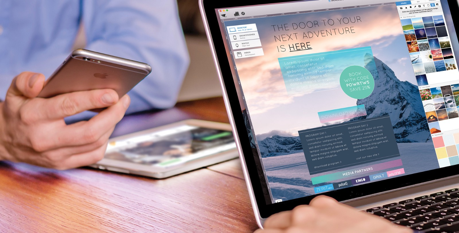 Tips For Creating Real Hero Newsletters With Wallpaper Images And