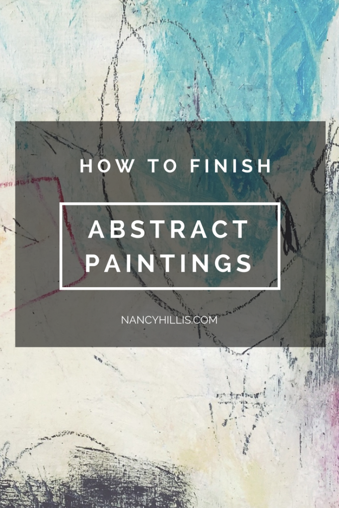 How To Finish Paintings