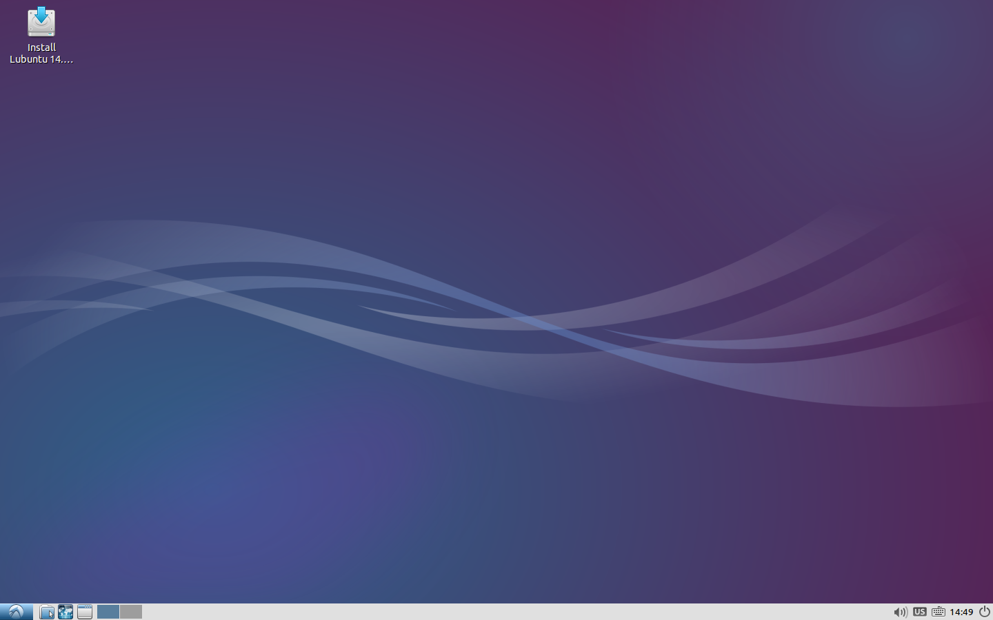 The Default Lubuntu Installation