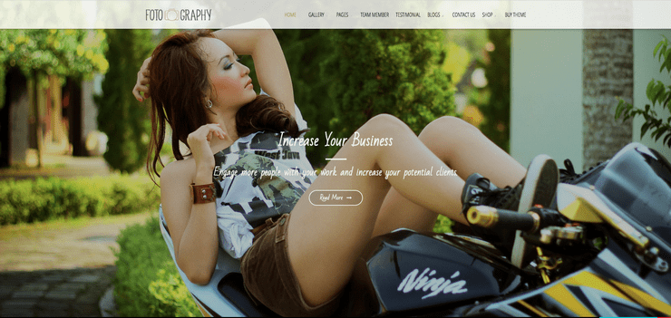 wordpress photography themes free