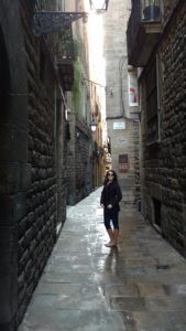 Walking along the streets of the Old City