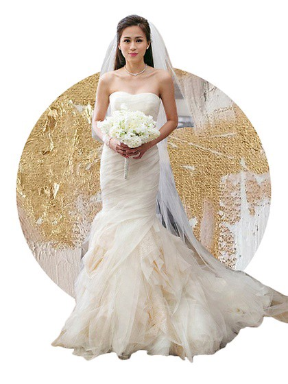 One Of The Most Sought After Wedding Gown Designers In World Vera Wang Really Made Beauty Pop Out Toni Gonzaga