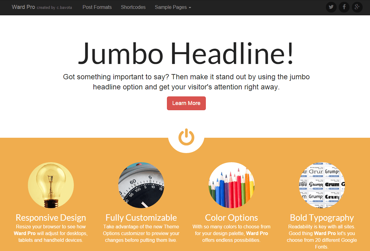 50+ Best FREE WordPress Business Themes 2015 For Your Next