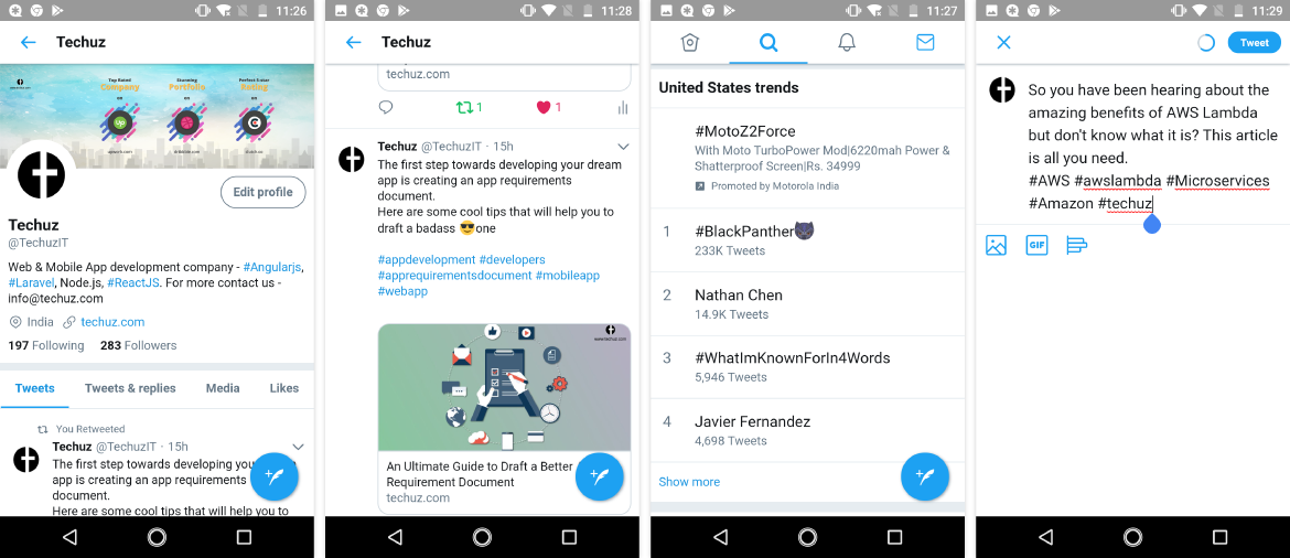 Download twitter lite app for android | Peatix