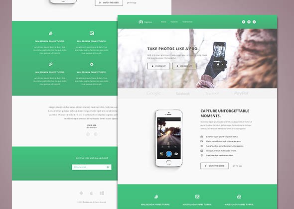 Free Responsive HTML CSS Website Templates Level Up Medium - Html5 web page template