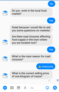 chatbot interaction